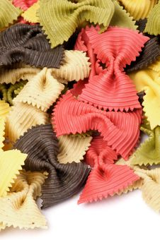 Free Farfalle Pasta Stock Photos - 27450433
