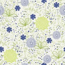 Free Flower Pattern Stock Image - 27450491