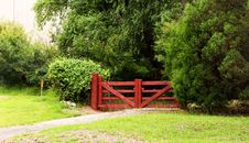 Free Beautiful Red Gate Stock Images - 27452244