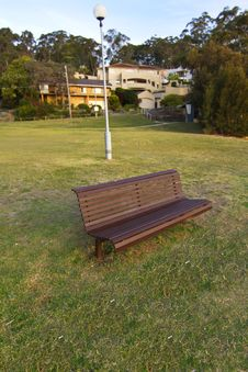 Free Park Chair And Lamb Royalty Free Stock Photos - 27452988