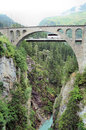 Free Bridge Over A Gorge Stock Photography - 27461792