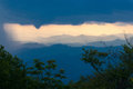 Free Blue Ridge Mountain Sunset Stock Photography - 27464792