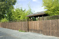 Free Wooden Fence, Gate And Bamboo Royalty Free Stock Photos - 27466568
