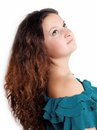Free Curly Cute Brunette Stock Photos - 27469373