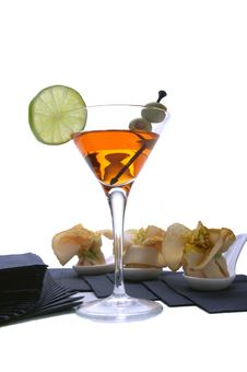 Free Aperitif With Cocktails Stock Photography - 27461262