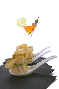 Free Aperitif With Cocktail Stock Photography - 27461272