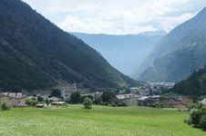 Free Brusio And The Circle Viaduct Of Bernina Railway Stock Photo - 27461630