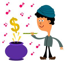 Dollar Charmer Royalty Free Stock Photography