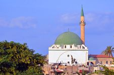 Free Al Jazzar Mosque Royalty Free Stock Photo - 27466815