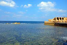 Free Acre Sea Wall Stock Photo - 27467920