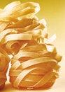 Free Italian Pasta Fettuccine On Yellow Gradient Royalty Free Stock Photo - 27471265