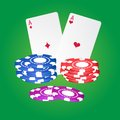Free Casino Elements. Royalty Free Stock Photography - 27479757