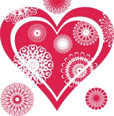 Free Abstract Heart Stock Photography - 27470392