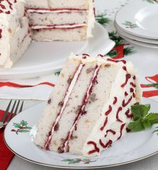 Free Piece Of Christmas Cake Stock Images - 27471084
