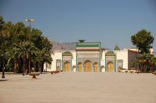 Golden Doors In Fez Royalty Free Stock Photo