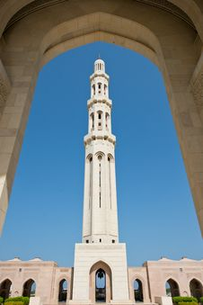 Free Sultan Qaboos Mosque Royalty Free Stock Photo - 27472275