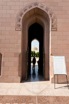 Free Sultan Qaboos Mosque Royalty Free Stock Photography - 27472277