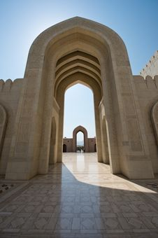Free Sultan Qaboos Mosque Royalty Free Stock Images - 27472279
