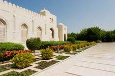 Free Sultan Qaboos Mosque Stock Images - 27472294