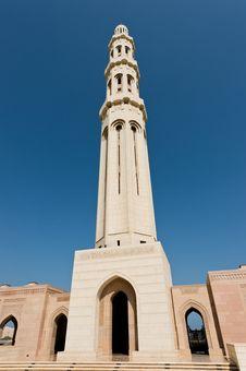 Free Sultan Qaboos Mosque Stock Photo - 27472300