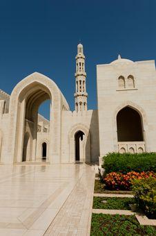 Free Sultan Qaboos Mosque Stock Image - 27472301