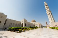 Free Sultan Qaboos Mosque Stock Images - 27472304