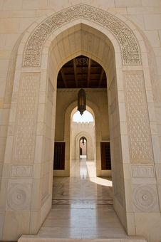 Free Sultan Qaboos Mosque Royalty Free Stock Photos - 27472328