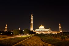 Free Sultan Qaboos Mosque Stock Photography - 27472362
