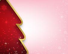 Free Christmas Tree Card Stock Photos - 27472363
