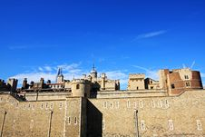 The Tower Of London, London, England, UK Royalty Free Stock Image