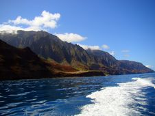 Free Kalalau Valley On The Na Pali Coast Of Kauai, HI Stock Photo - 27477000