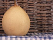 Free Asian Pear Picnic Royalty Free Stock Photo - 27478495