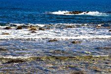 Free Sea Waves At The Shore Stock Image - 27479571