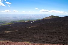 Free Volcano Mount Etna On Sicily Stock Photos - 27479773