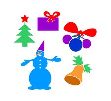 Free Set Of Pictures - Christmas Stock Photos - 27479783