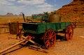 Free Old Wagon At Monument Valley, Utah, USA Stock Photos - 27484043