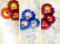 Free Collection Of Flower Vector Backgrounds Royalty Free Stock Image - 27486456