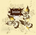 Free Vintage Vector  Invitation Card Stock Photo - 27487560