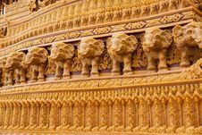 Free Sakon End Of Buddhist Lent Tradition. Royalty Free Stock Photo - 27480725