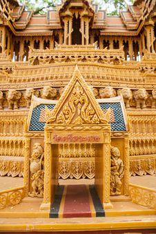 Free Sakon End Of Buddhist Lent Tradition. Stock Photo - 27480870