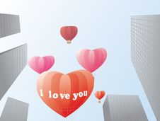 Free Love In The City Royalty Free Stock Images - 27481369