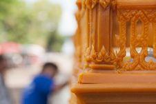 Free Sakon End Of Buddhist Lent Tradition. Stock Photos - 27481743