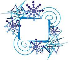 Free Blue Frame Stock Image - 27482301
