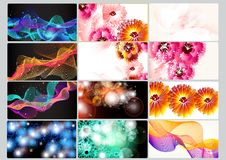 Free Business Cards Set Royalty Free Stock Images - 27485669