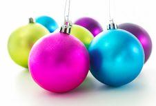 Free Christmas Balls Stock Image - 27486841