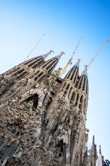 Free La Sagrada Familia-Barcelona, Spain Stock Photos - 27487733