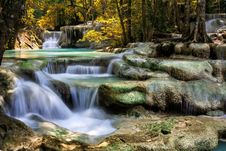 Free Mountain Stream Among The Mossy Stones Stock Photography - 27489072