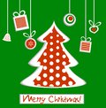 Free Christmas Tree With Gifts Royalty Free Stock Photos - 27490958
