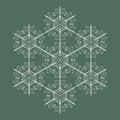 Free Seamless Snowflakes Background Stock Photo - 27496090