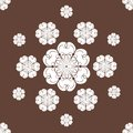 Free Seamless Snowflakes Background Stock Photography - 27496092